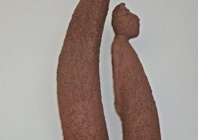 DIE VERTRÄUMTEN - Skulpturen aus Ton von Christl Angele-Scheffold