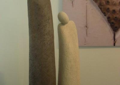 ZEITLOS - Skulpturen aus Ton von Christl Angele-Scheffold